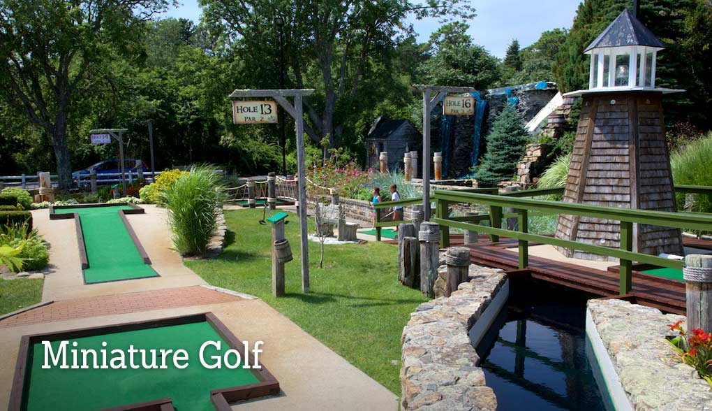 Cape Cod Mini Golf Course